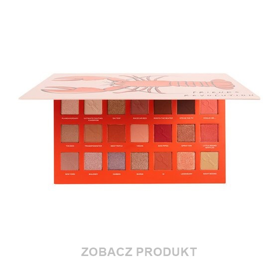 MAKEUP REVOLUTION X FRIENDS HE'S HER LOBSTER PALETTE PALETA CIENI DO POWIEK 25,2G