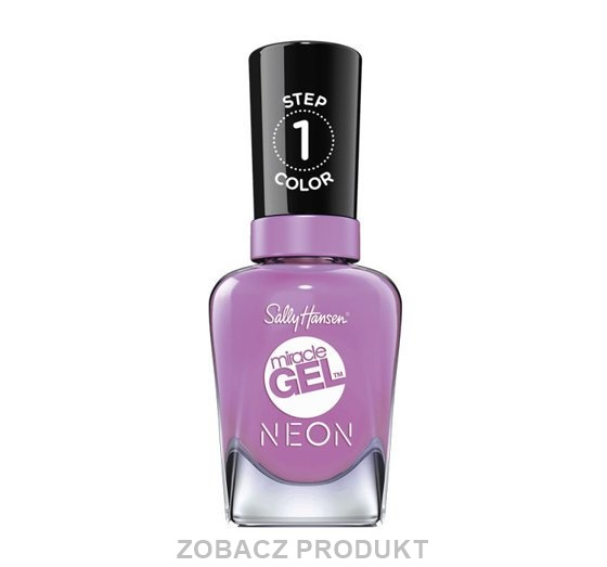 SALLY HANSEN MIRACLE GEL NEON LAKIER 054 VIOLET VOLTAGE 14,7ML