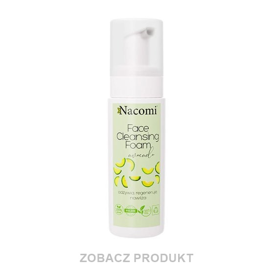 NACOMI FACE CLEANSING FOAM PIANKA DO TWARZY AVOCADO 150ML