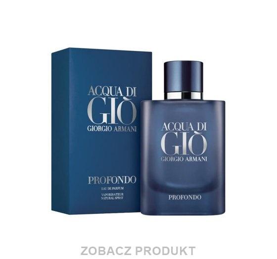 GIORGIO ARMANI ACQUA DI GIO PROFONDO WODA PERFUMOWANA SPRAY 40ML