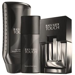 Avon Black Suede Touch Hair&Body Wash Boczne 2 245x245